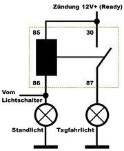 Nett Fahrlicht Relais Verkabelung Fotos - Die Besten Elektrischen ...